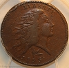 1793 S11b R4 Wreath Large Cent Lettered Edge PCGS VF30
