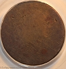 1793 S1 R4 Chain Large Cent AMERI. Reverse PCGS FR2, formerly AG3