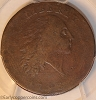 1793 S2 R4+ Chain Large Cent AMERICA PCGS F12
