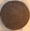 1811 S287 R2 Classic Head Large Cent PCGS VG8 CAC