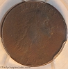 1793 S1 R4 Chain Large Cent AMERI. Reverse PCGS F12 ex-NGC F15