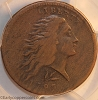 1793 S11c R3- Wreath Large Cent Lettered Edge PCGS VF20