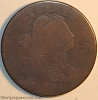 1796 S106 R4+ Draped Bust large Cent Raw FR2