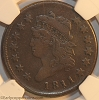 1811 S287 R2 Classic Head Large Cent NGC VF20 Jack Conour
