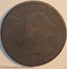 1794 S68 R5 Liberty Cap Large Cent Raw G4/FR2