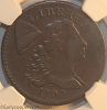 1794 S55 R2 Liberty Cap Large Cent NGC EF40