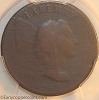 1793 S14 R5- Liberty Cap Large Cent PCGS Very Good