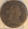 1796 S103 R4+ Draped Bust Large Cent LIHERTY Error PCGS VG8
