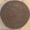 1812 S289 R1 Classic Head Large Cent Large Date PCGS F12
