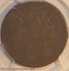 1794 S51 R4 Liberty Cap Large Cent Head of 1794 PCGS AG3