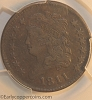 1811 C2 R3 Classic Head Half Cent PCGS VF35 Furnace Run Collection