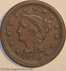 HCH 1848 N15b R5 Braided Hair Large Cent Raw EF40+