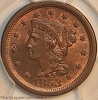 HCH 1853 N24 R2 Braided Hair Large Cent PCGS MS64RB