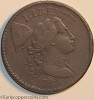 1794 S49 R2 Liberty Cap Large Cent Head of 1794 Raw F15 net VG10