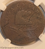 1787 New Jersey M48-g W5275 Outlined Shield NGC VG10 Jim Rehmus