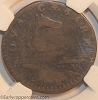 1787 New Jersey M46-e W5250 Small Planchet Plain Shield NGC VF20 Jim Rehmus