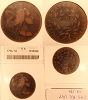 1794 S49 R2 Liberty Cap Large Cent Head of 1794 Removed ANACS G6
