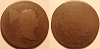 1796 S85 R5- Liberty Cap Large Cent PCGS AG3 RWH Collection