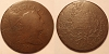 1796 S87 R3 Liberty Cap Large Cent Raw VG8 net G4 RWH Collection