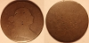 1796 S100 R5 Draped Bust Large cent Raw AG3 net FR2 RWH Collection