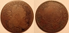 1796 S112 R4+ Draped Bust Large cent Raw VG10 net VG7 RWH Collection