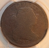 1798 S149 R4+ Draped Bust Large Cent Raw PCGS AG3 RWH Collection