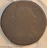 1796 S115 R3 Draped Bust Large Cent Reverse of 1797 PCGS FR2 CAC Steve Katz