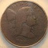 1795 S80 Jefferson Head Cent Plain Edge PCGS G6 ex-Jules Reiver collection
