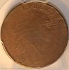 1793 S2 R4+ Chain Large Cent AMERICA PCGS F15