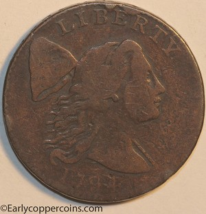 1794 S28 R2 Liberty Cap Large Cent Head of 1794 Removed PCGS G6 Sharp Original