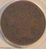 1797 C3b R4 Liberty Cap Half Cent Lettered Edge PCGS AG3