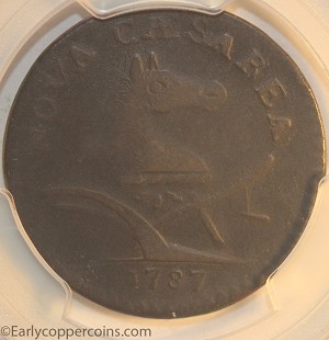1787 New Jersey M60-p W5340 PLURIBS PCGS VF20 Jim Rehmus