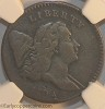 1794 C3a R5 Liberty Cap Half Cent NGC VF20 Furnace Run Collection