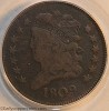 1809 C1 R4 Classic Head Half Cent PCGS Genuine Mark Palmer Collection