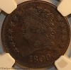 1809 C2 R3 Classic Head Half Cent NGC VF30 Mark Palmer Collection