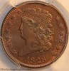 1828 C3 R1 Classic Head Half Cent PCGS MS64RB Mark Palmer Collection